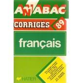 Annabac Corrig�s 89 Francais de halpern, A.E.