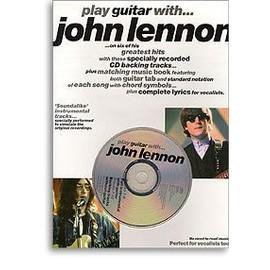 LENNON JOHN : PLAY GUITAR WITH
