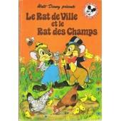 Le Rat De Ville Et Le Rat Des Champs de walt disney