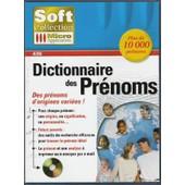 Dictionnaire Des Pr�noms