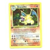 Pokemon Francaise Base �dition 1 (Ed 1) Holo N� 4/102 Dracaufeu 120 Pv