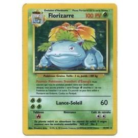 Pokemon Francaise Base �dition 2 (Ed 2) Holo N� 15/102 Florizarre 100 Pv