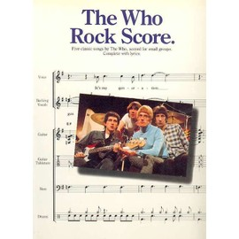 TheWho Rock Score avec tablatures