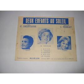 DEUX ENFANTS AU SOLEIL (J.Ferrat I.Aubret)