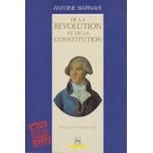 De La R�volution Et De La Constitution de Furet, Fran�ois
