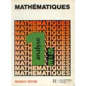 Mathematiques 1ere S/E Analyse - Edition 1986 de Gautier