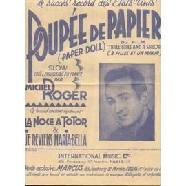 Poupée de papier - La noce à Totor - Je reviens Maria Balla
