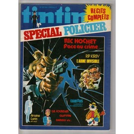 Tintin Special Policier Hors-S�rie N� 26bis : Ric Hochet Face Au Crime