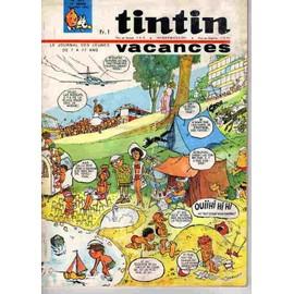 Tintin N� 877 : Vacances