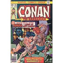 Conan The Barbarian N� 63 : Vendu Par Paire Nr 63 Et Nr 83