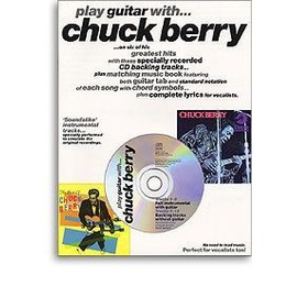 chuck berry play guitar with