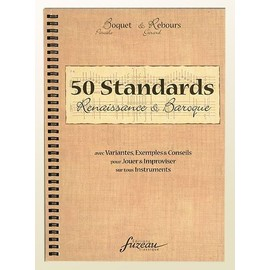 50 standards renaissance et baroque