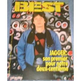 Mick Jagger Rolling Stones Affichette Promo 30x40cm 1