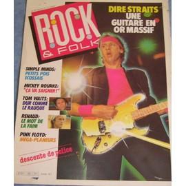 Dire Straits Affichette Promo 30x40cm Rock et Folk