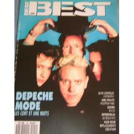 Depeche Mode Affichette Promo 30x40cm BEst french Mag