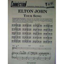 "ELTON JOHN ""YOUR SONG"""