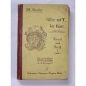 Wer Will, Der Kann, Sonst Und Jezt I, Quatrieme A-A'-B Langue I de BOUCHEZ M.