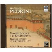 Concert Baroque � La Cit� Interdite - Teodorico Pedrini