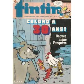 Tintin N� 463 : Chloro A Trente Ans