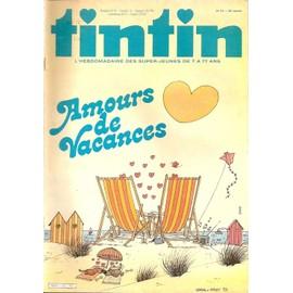 Tintin N� 415 : Amours De Vacances