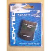 Joytech - Carte M�moire 1 Mo Pour Playstation