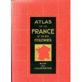 Atlas De La France Et De Ses Colonies de Collacchi, P Commandant