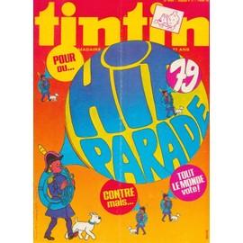 Tintin Hebdomadaire N�21 En Belgique Et 193 En France N� 193. : Hit Parade 1979