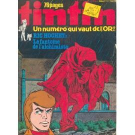 Tintin Hebdomadaire N�21 En Belgique Et 13 En France N� 185 N� 185 : Le Fantome De L'alchimiste