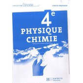 Physique Chimie 4e - Livre Du Professeur de hachette