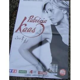 PATRICIA KAAS AFFICHE CONCERT 60X 40 CM