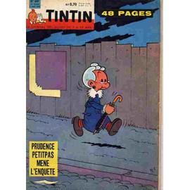Tintin Le Journal Des Jeunes De 7 � 77 Ans N� 607. 9 Juin 1960. Prudence Petitpas M�ne L'enqu�te
