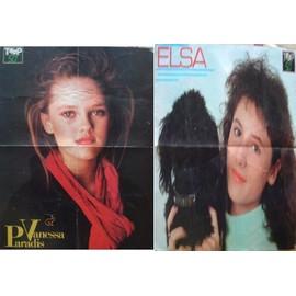 VANESSA PARADIS & ELSA POSTER 30X44CM MAG TOP 50