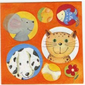 Serviette Papier - Lot De 4
