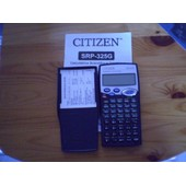 Citizen Srp-325g Calculatrice Scientifique Graphique
