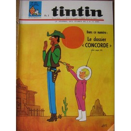 Journal Tintin N� 931 : Le Dossier Concorde