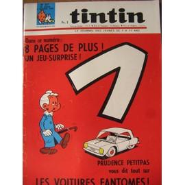 Journal Tintin N� 937 : 8 Pages De Plus ! Un Jeux Surprise ! // Les Voitures Fantomes !