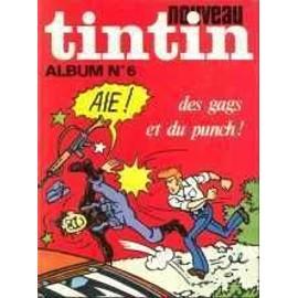 Nouveau Tintin Album N� 6 : (53 � 63 - 1976)