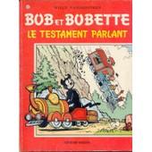 Bob Et Bobette N� 119 Le Testament Parlant de willy vandersteen