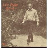 1916-19... - La Po�sie, Le Palladium, Faim, La Complainte De La T�l�, La Mort, Beau Saxo, On S'aimera, Les Romantiques, C'est La Vie, La Gr�ve, Paris Spleen, L'age D'or - L�o Ferr�