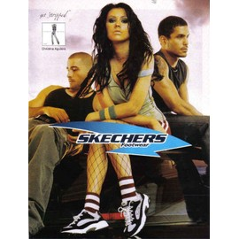 Christina Aguilera for Sheckers Footwear
