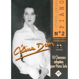 Céline Dion Spécial Piano n° 2 - Céline Dion livre + cd