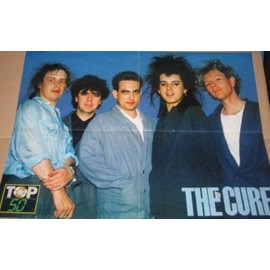 THE CURE POSTER 60X45CM MAG TOP 50