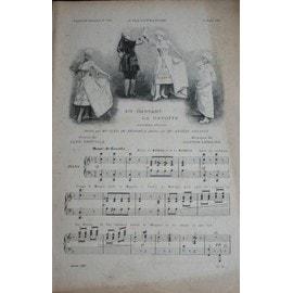 En dansant la gavotte, de Gaston Lemaire, chantée par Angèle Legault