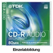 TDK CD-R Audio - 10 x CD-R