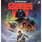 L'empire Contre -Attaque. Star Wars. Laser Disc. 1995