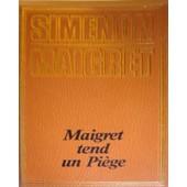 Maigret Tend Un Pi�ge de georges simenon