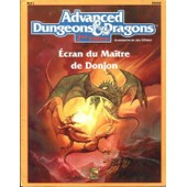 Advanced Dungeons And Dragons 2�me �dition, �cran Du Ma�tre De Donjon de Rabe Bruce