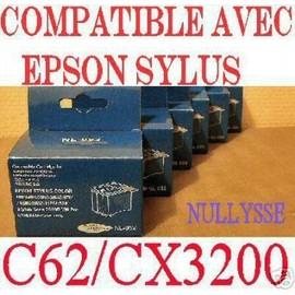 Lot De 4 Cartouches Compatibles Epson C62 : T040 & T041