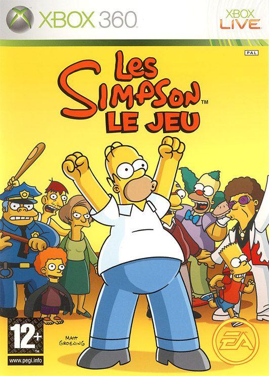 Les Simpson Le Jeu Ensemble Complet Xbox 360 Français