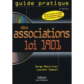 Guide Pratique Des Associations Loi 1901 - (1c�d�rom) de Serge Rancillac